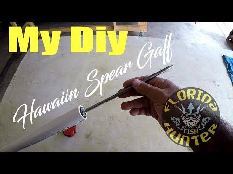 My DIY Offshore Hawaiian Spear Gaff - Florida Fish Hunter