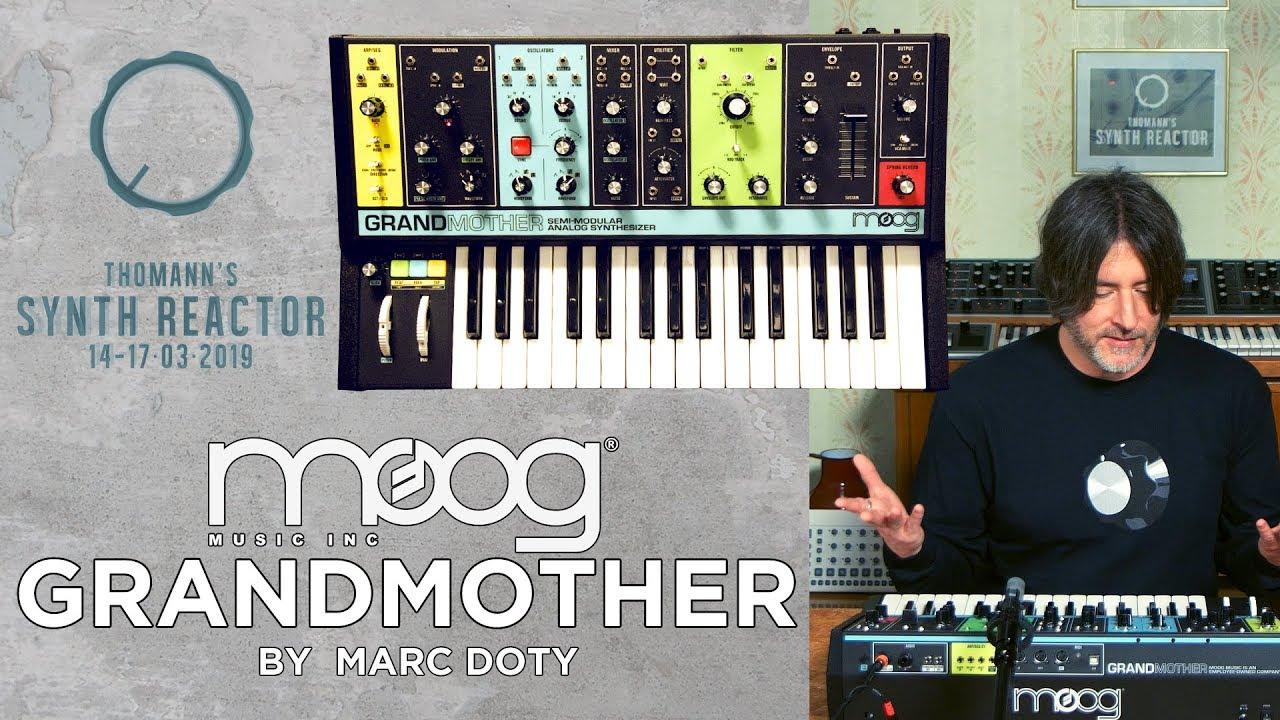 Tsr19 The Moog Grandmother Part 1 Youtube