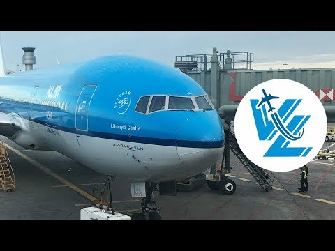 KLM World Business Class Boeing 777-200 Review