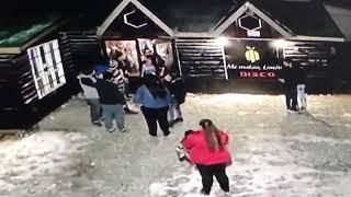 Video: Riña en un boliche de Tolhuin
