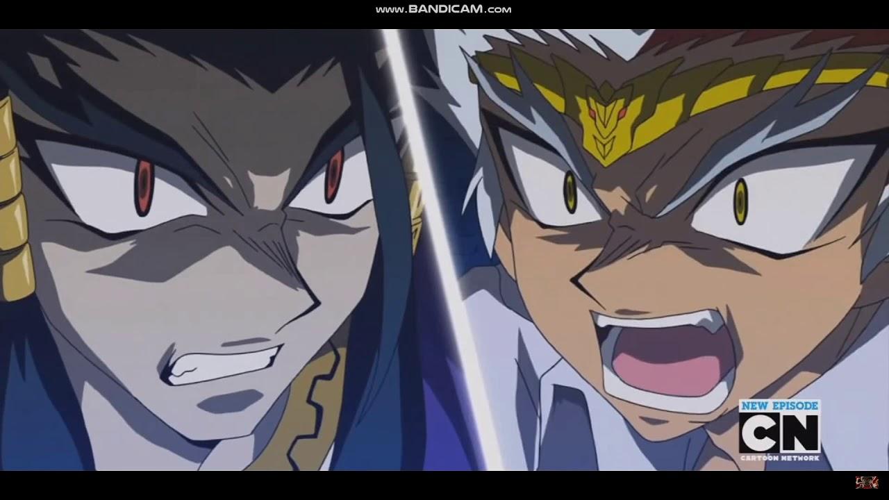 Ryuga Vs Rago Part 1 En Jp Youtube