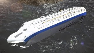 Costa Concordia could collapse before salvage complete