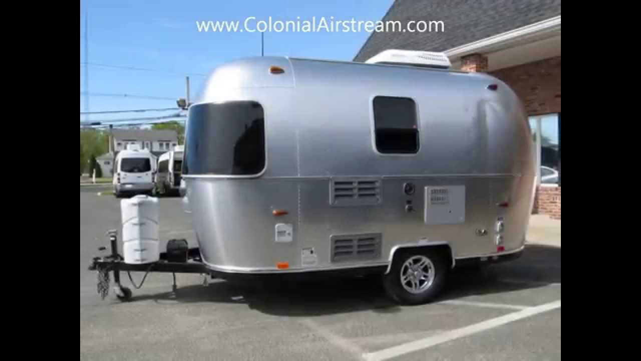 2013 Airstream Sport 16 Bambi Small Camping Trailer RV  YouTube