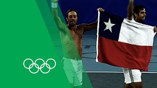 Chile's First Olympic Gold - González & Massú on Men's Tennis Doubles 2004