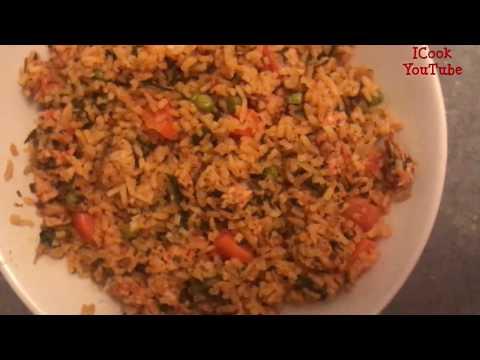 riz-au-poulet-et-légumes-cuit-à-la-vapeur-cuisine-tunisienne-recette-diététique