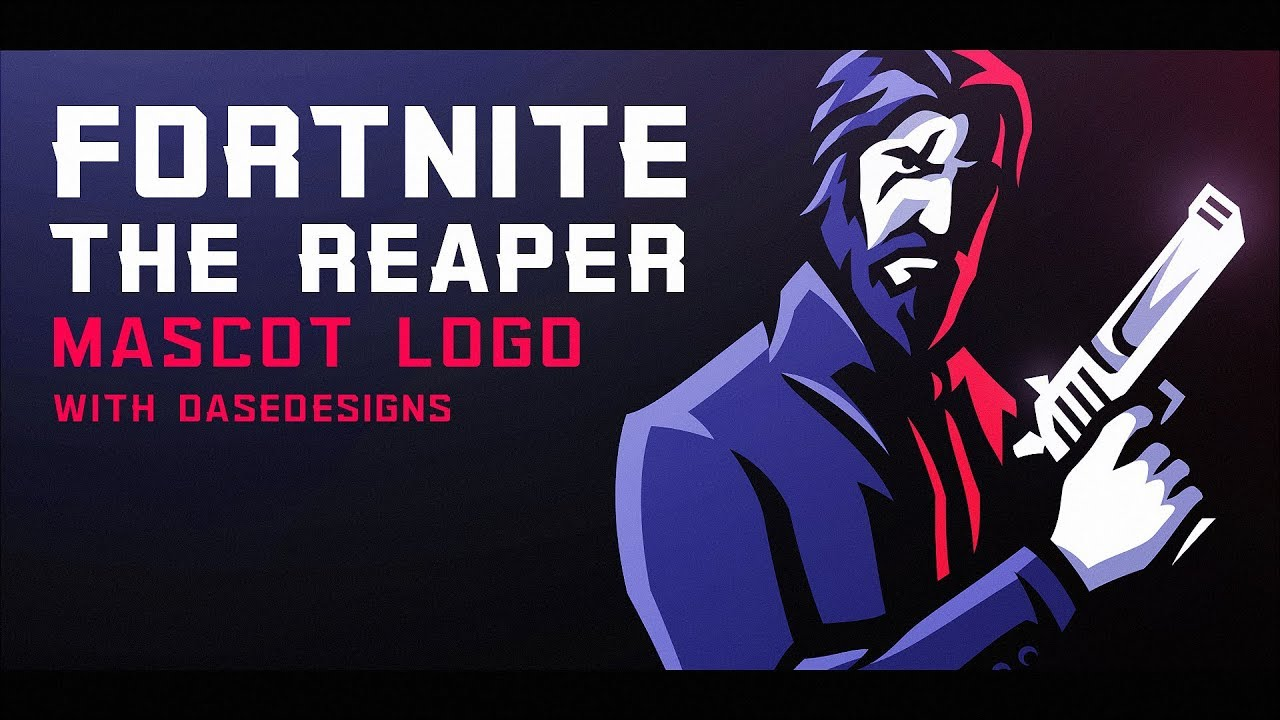 Fortnite The Reaper Mascot Logo How To Create Esports Logos