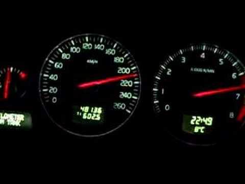 Volvo S60 T5 2005 0-220km/h - YouTube