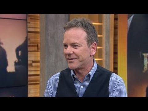 Kiefer Sutherland Interview on Designated Survivor