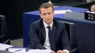 Discours à Macron en plénière - 17 avril 2018