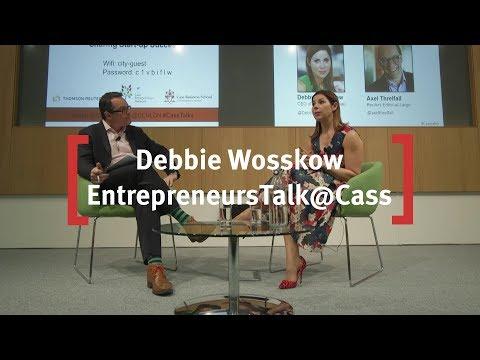 Debbie Wosskow, CEO Of Love Home Swap: EntrepreneursTalk@Cass