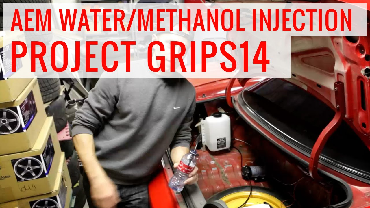 AEM WaterMethanol Injection Howto Install Project GripS YouTube - Aem water methanol kit wiring diagram