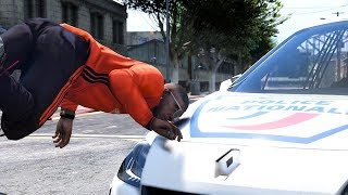 GTA 5 FRANCE - RIPOSTE DE LA POLICE NATIONALE  LE PIÈGE MONSTRUEUX