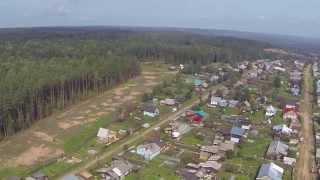 Взлёт над Новоильинском 13 августа 2015.