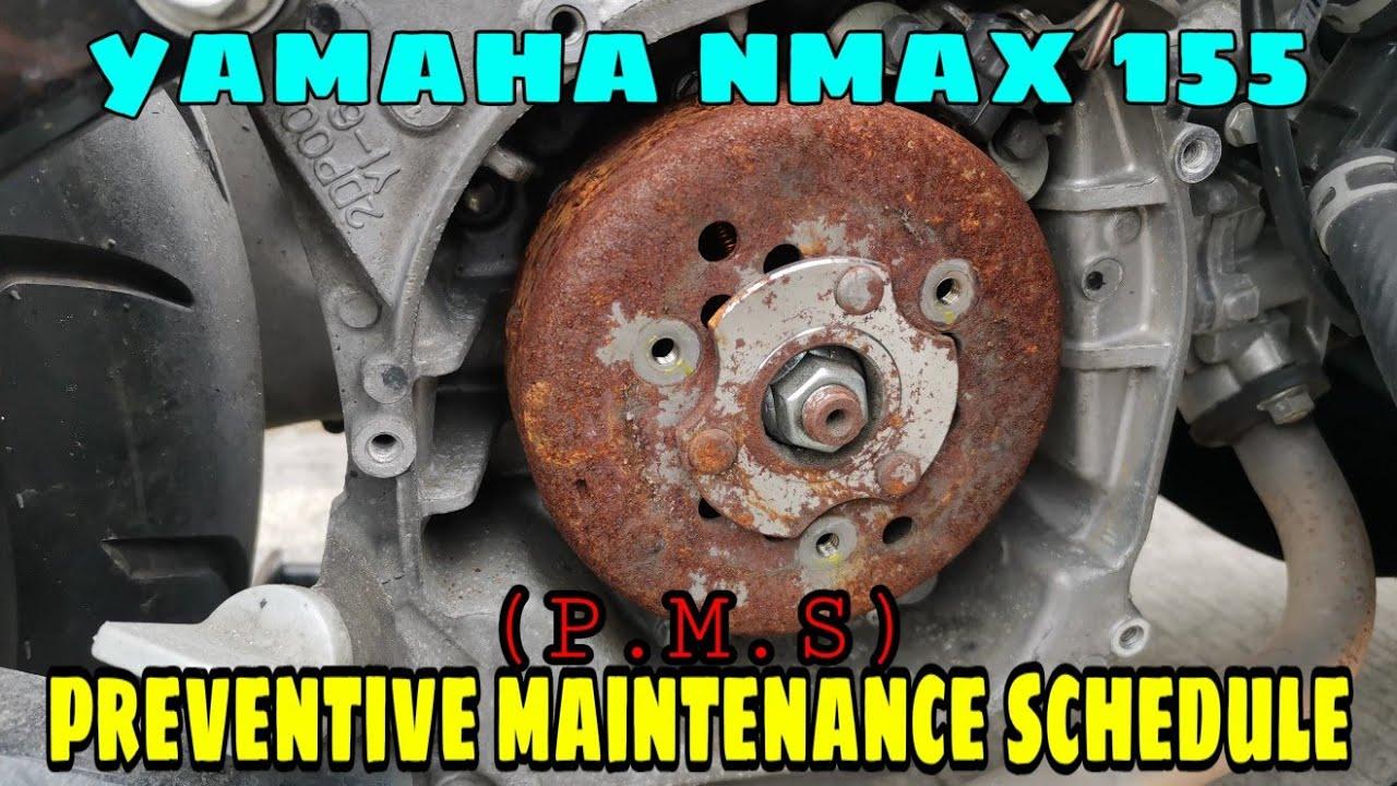 Download YAMAHA NMAX MAINTENANCE