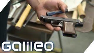 Die Garten-Waffen: Wie Pistolen einen neuen Sinn bekommen | Galileo | ProSieben