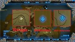 Alle Krogs; Alle Schreine - Die 100% Karte in Zelda BotW (Guide)