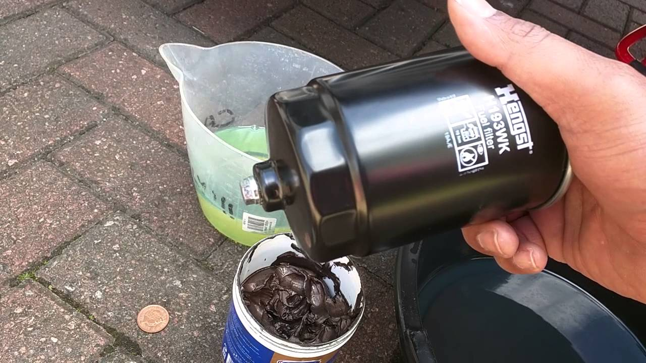 Xc90 Oil Leak >> How To Change a Fuel Filter. Canister Type - YouTube