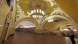 El Metro de Moscú: Un Palacio subterráneo