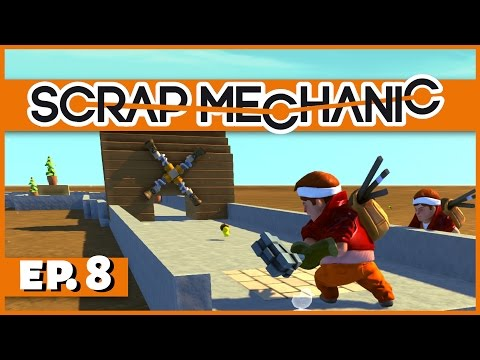 Scrap Mechanic - Ep. 8 - Multiplayer Mini-Golf! - Let's Play Scrap Mechanic Gameplay