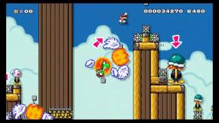 [Super Mario Maker] AirShip: Shell Panic 3.0