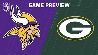 Packers vs. Vikings | Ty Montgomery vs. Eric Kendricks | Move the Sticks | NFL Week 16 Previews