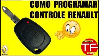 Como programar o controle original Renault