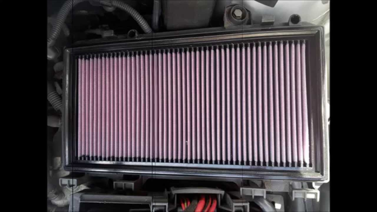 how to change an air filter in a mk2 seat toledo paper to cotton youtube. Black Bedroom Furniture Sets. Home Design Ideas