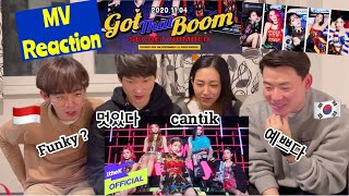 Ep. 22 (ENG) Korean 🇰🇷 React to Secret Number 시크릿넘버 - Got That Boom  | non Kpop fan react 😍
