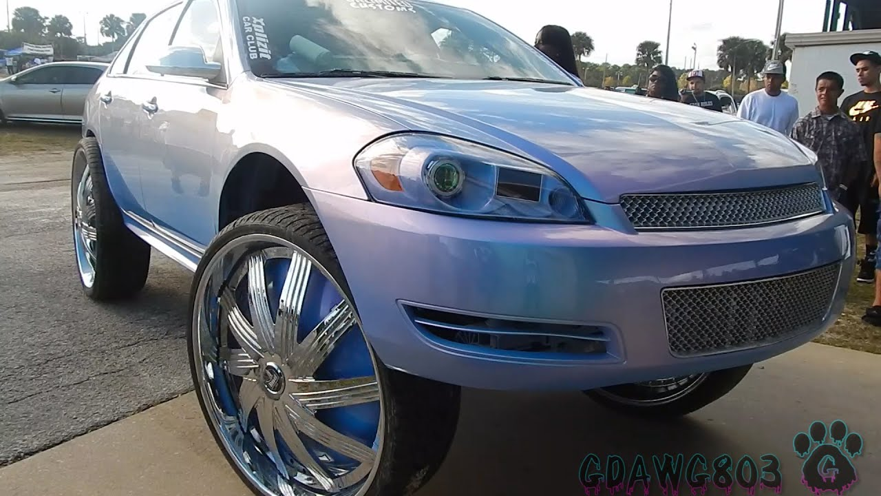 "BEATIN Outrageous Impala on 32"" Dub Floaters Pulls Up ..."