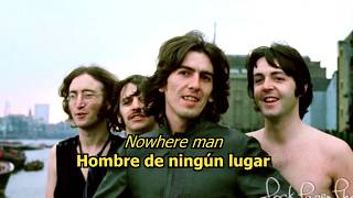 Nowhere man - The Beatles (LYRICS/LETRA) [Original]