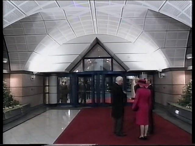 LIFFE: The Inauguration of Cannon Bridge on 11th Feb 1992