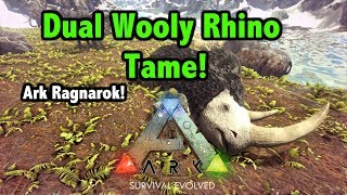 Ark Survival Evolved Wooly Rhino Taming