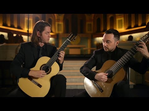 HK Guitar Duo - Symphony No. 40: I. Molto Allegro