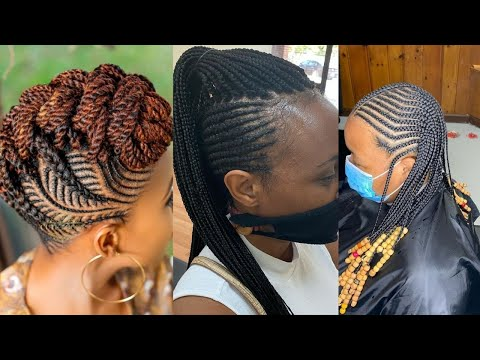 Black Hairstyles 2020 Female 😍😘 : Cute Hairstyles Videos Compilation