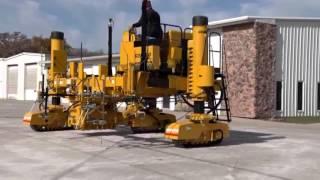 Video still for GOMACO Xtreme Commander IIIx Three-Track Concrete Curb & Gutter Machine