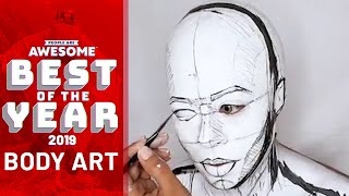 Incredible Body Painters | Best of 2019