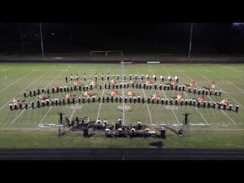 East Hall High School Viking Marching Band 2016 Chestatee Competition