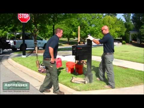 How to install a mailbox like a pro!
