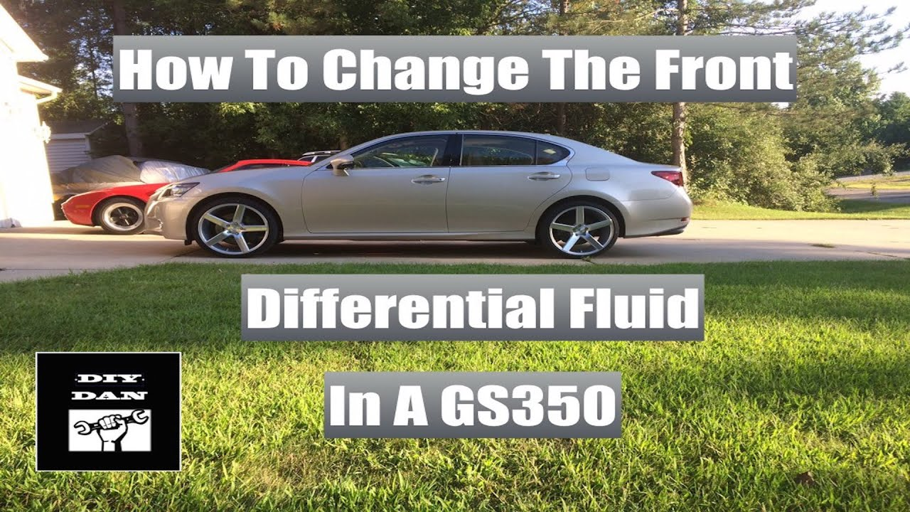 How To Change The Front Differential Oil In A Lexus GS350 and F