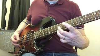Steven WILSON - Only Child - Fender '64 RW Jazz Bass.