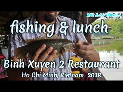 Fishing And Having Lunch At Binh Xuyen 2 Restaurant, Ho Chi Minh, Vietnam