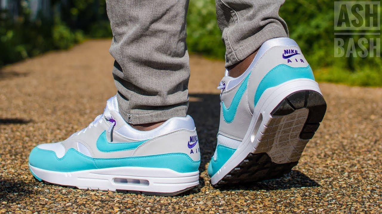 Review + On Foot | Nike Air Max 1 Aqua