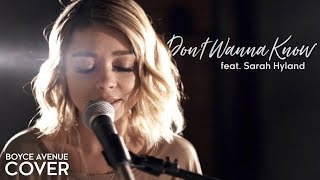 Don't Wanna Know - Maroon 5  Boyce Avenue Ft. Sarah Hyland Cover  On Spotify & Apple
