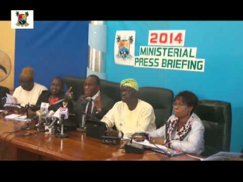 MINISTRY OF PHYSICAL PLANNING & URBAN DEVELOPMENT  2014 MINISTERIAL PRESS BRIEFING