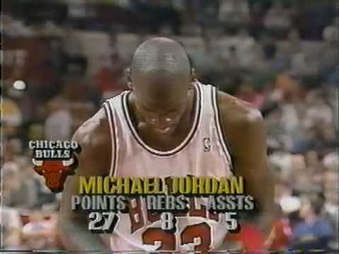 Michael Jordan 1990: 47 points vs Pistons (Game 3)