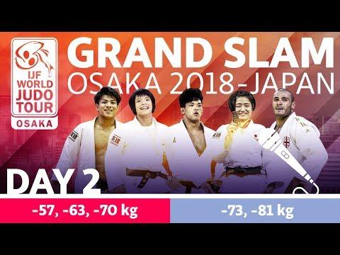 Judo Grand-Slam Osaka 2018: Day 2