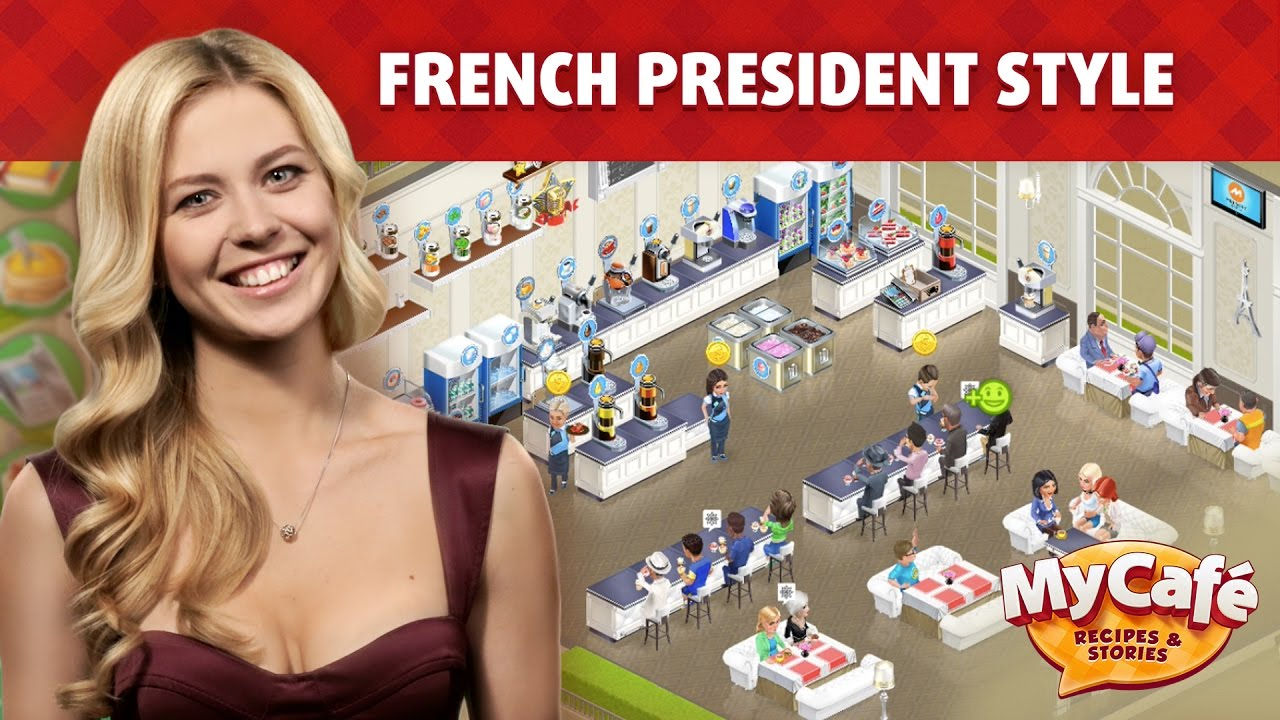 my cafe french presidential style youtube. Black Bedroom Furniture Sets. Home Design Ideas