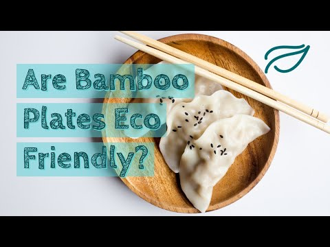 How deforestation can be environmentally friendly? Are bamboo plates Eco Friendly?