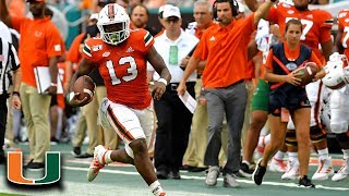 Miami's Deejay Dallas Runs Over Against Bethune-Cookman