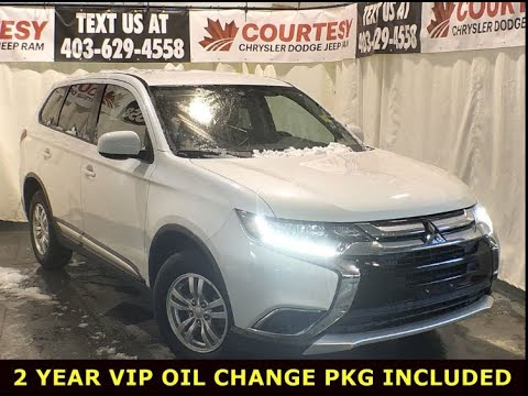 REVIEW 2018 Mitsubishi Outlander| White Pearl| Courtesy Chrysler